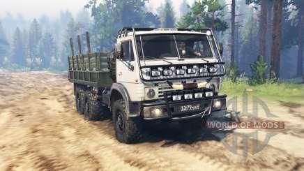 КамАЗ 4310М для Spin Tires