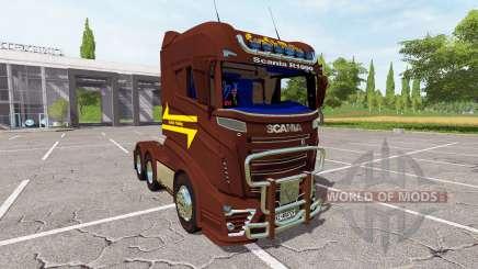 Scania R1000 3-axis для Farming Simulator 2017