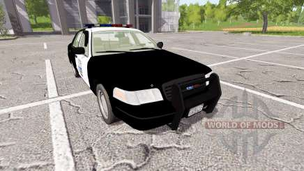 Ford Crown Victoria Police для Farming Simulator 2017