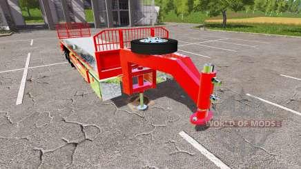 Semi-trailer platform для Farming Simulator 2017