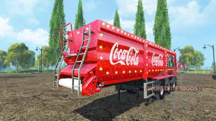 Krampe SB 30-60 Coca-Cola v2.2 для Farming Simulator 2015
