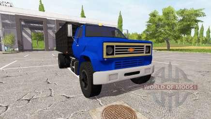 Chevrolet C70 dump для Farming Simulator 2017