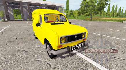 Renault 4 fourgonnette для Farming Simulator 2017