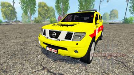 Nissan Pathfinder (R51) Belgian MUG Klina для Farming Simulator 2015