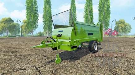 BERGMANN M 1080 unmarked для Farming Simulator 2015