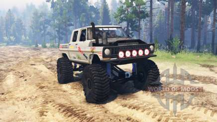 Ford F-250 Crew Cab для Spin Tires