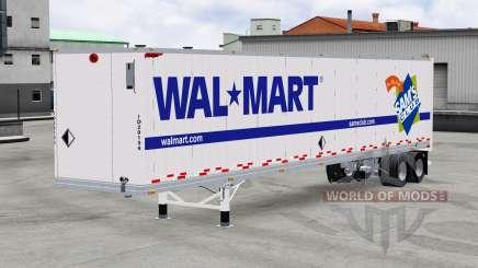 Полуприцеп Wal-Mart для American Truck Simulator