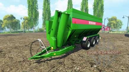 BERGMANN GTW 430 для Farming Simulator 2015