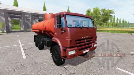 КАМАЗ 43118 Огнеопасно для Farming Simulator 2017