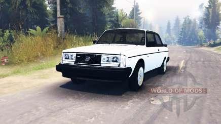 Volvo 242 Turbo 1983 для Spin Tires