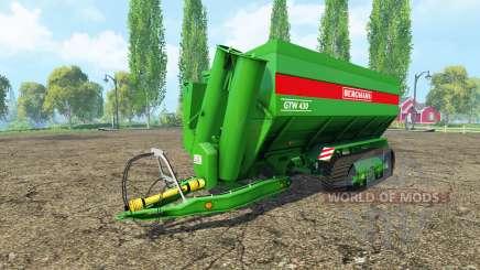 BERGMANN GTW tracks для Farming Simulator 2015