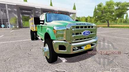 Ford F-550 Stakebed для Farming Simulator 2017