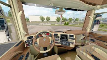 Интерьеры для тягачей Renault для Euro Truck Simulator 2