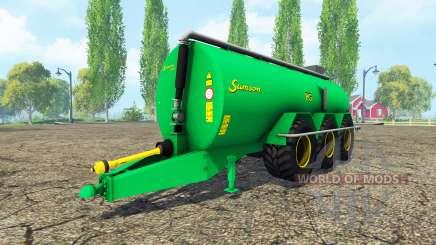 Samson PG 25 для Farming Simulator 2015