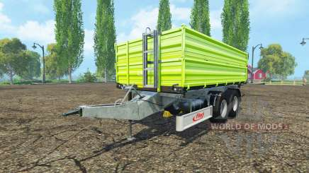 Fliegl TDK 160 lightgreen edition для Farming Simulator 2015