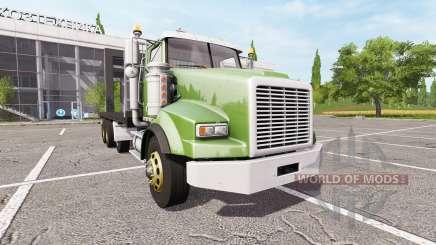 Lizard SX 210 Twinstar Flatbed 4-axles для Farming Simulator 2017
