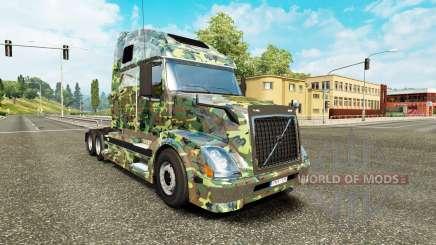 Скин Army на тягач Volvo VNL 670 для Euro Truck Simulator 2