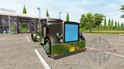 Peterbilt 388 custom для Farming Simulator 2017