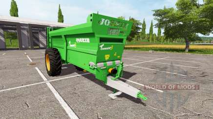 JOSKIN Tornado3 v2.0 для Farming Simulator 2017