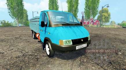 ГАЗ 3302 ГАЗель для Farming Simulator 2015