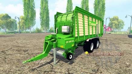 Krone ZX 450 GL v3.0 для Farming Simulator 2015