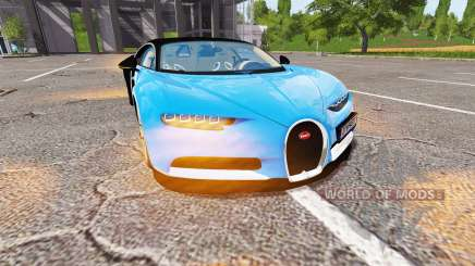 Bugatti Chiron для Farming Simulator 2017
