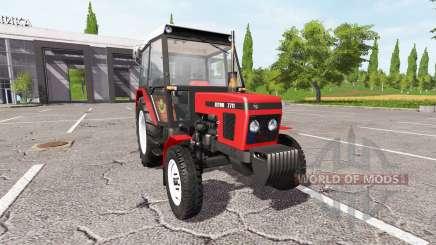 Zetor 7711 для Farming Simulator 2017