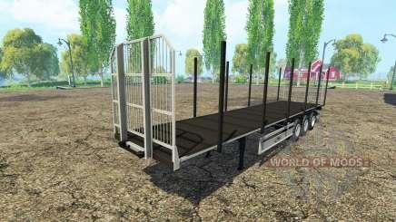 Многоцелевой полуприцеп Fliegl v3.0 для Farming Simulator 2015