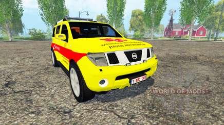 Nissan Pathfinder (R51) Belgian MUG Harbor для Farming Simulator 2015