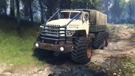 Урал 4320-10 Тунгус v3.0 для Spin Tires