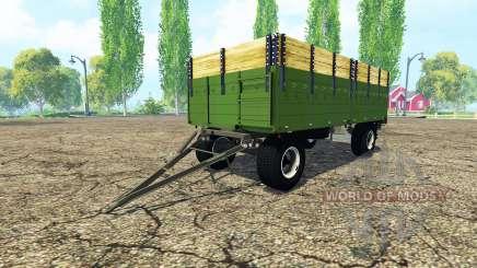 ITAS flatbed trailer для Farming Simulator 2015