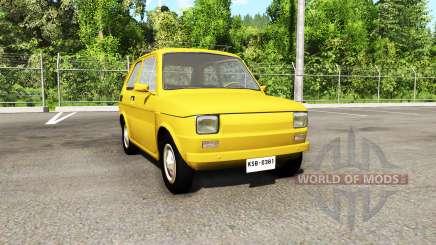 Fiat 126p v3.0 для BeamNG Drive