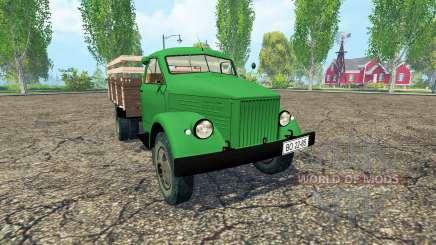 ГАЗ 51 зелёный для Farming Simulator 2015