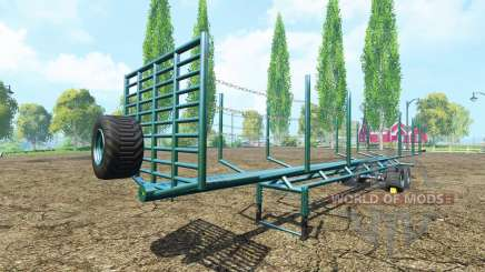 Полуприцеп сортиментовоз v1.1 для Farming Simulator 2015