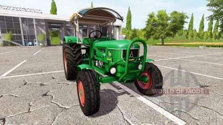 Deutz D80 v1.5 для Farming Simulator 2017