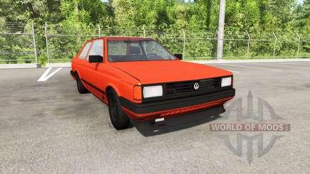 Volkswagen Fox 1989 для BeamNG Drive