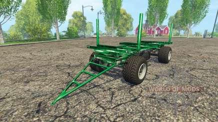 Zaccaria wood trailer для Farming Simulator 2015