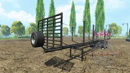 Полуприцеп сортиментовоз для Farming Simulator 2015