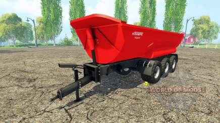 Krampe Halfpipe HP30 для Farming Simulator 2015