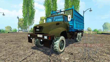 КрАЗ В18.1 сельхозник v1.1 для Farming Simulator 2015