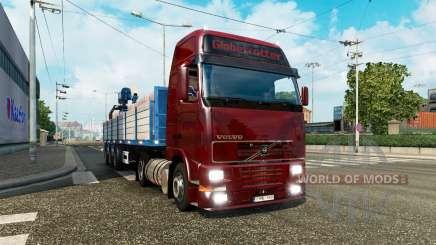Сборник грузового транспорта для трафика v2.1 для Euro Truck Simulator 2