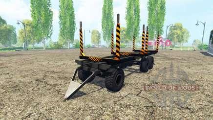Лесовозный прицеп для Farming Simulator 2015