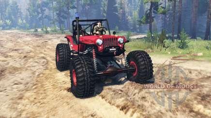 Jeep Willys CJ2A TTC для Spin Tires