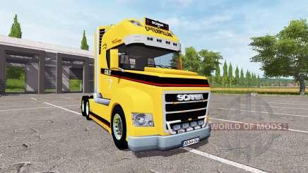 Scania Stax Caterpillar для Farming Simulator 2017