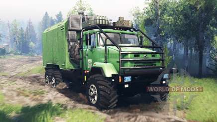 КрАЗ 63221 v4.0 для Spin Tires