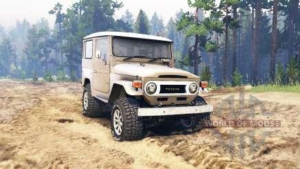 Toyota FJ40 для Spin Tires