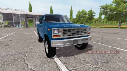 Ford Bronco XLT для Farming Simulator 2017