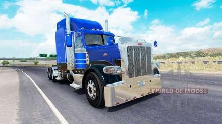 Скин Lines of 4 на тягач Peterbilt 389 для American Truck Simulator