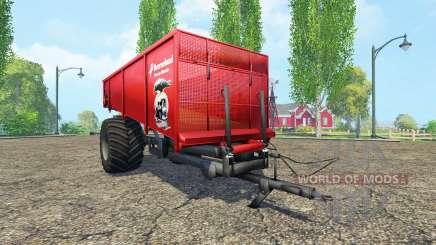 Kverneland Taarup Shuttle для Farming Simulator 2015