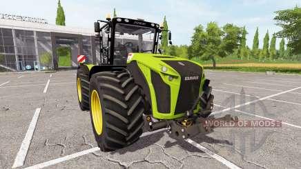 CLAAS Xerion 4500 v3.1 для Farming Simulator 2017